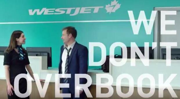 WestJet commercial overbooking