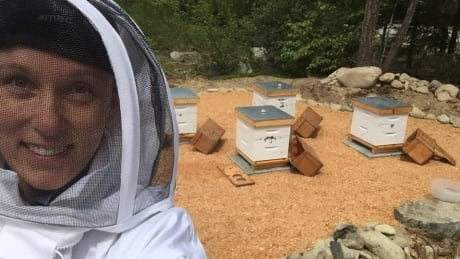 Eva Draper beekeeper