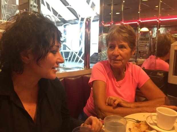 Santina Grilli and Barbara Fleming