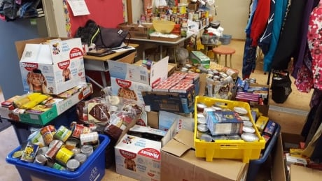 The Family of Schools Community Cupboard