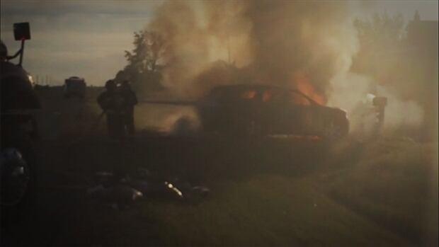 Morrison car fire