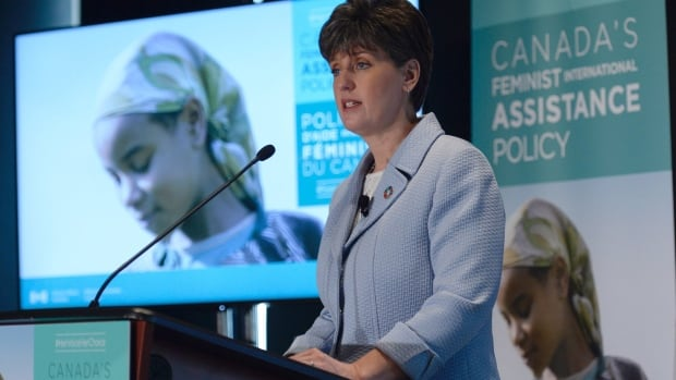 Minister of International Development Marie-Claude Bibeau launched Canada's new Feminist International Assistance Policy in Ottawa today.