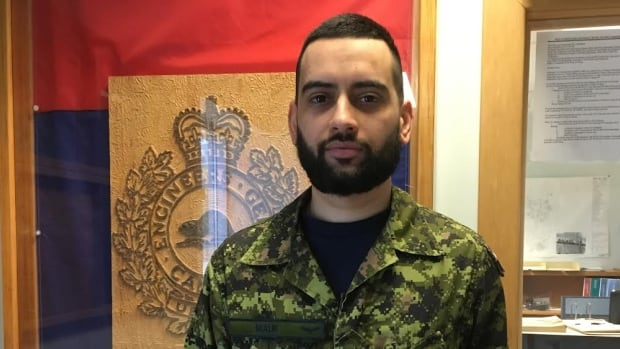 Capt. Hassan Malik is raising money for the Gander and Area Food Bank during the Muslim holy month of Ramadan.