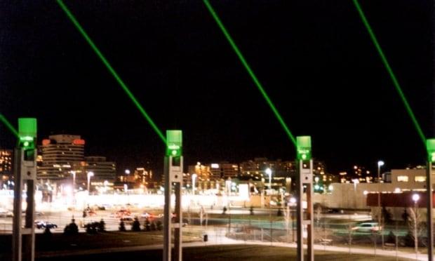 Shaw Millennium Park lasers