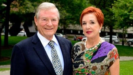 Senator Nicole Eaton and her husband Thor