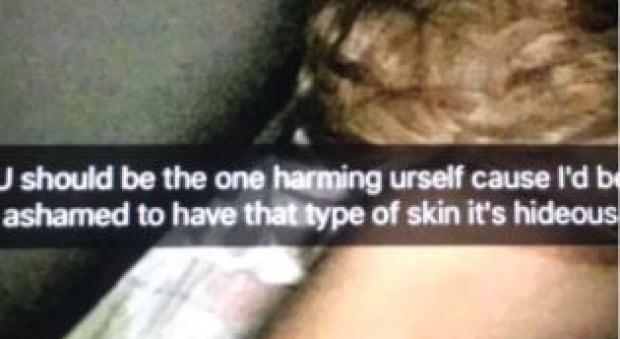strathcone tweedsmuir school racist snapchat
