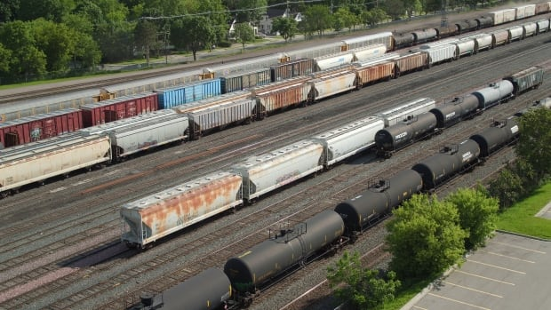CN railyard