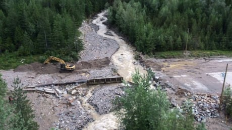 Revelstoke highway washout
