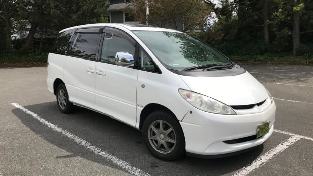 The Higgens had to abandon their hybrid Toyota import van after its one-of-a-kind key was lost, but now they're ready to hit the road once again.