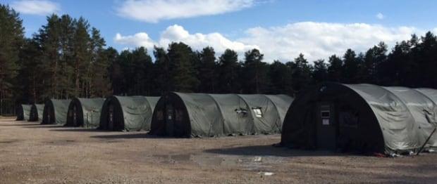 Latvia temporary shelters