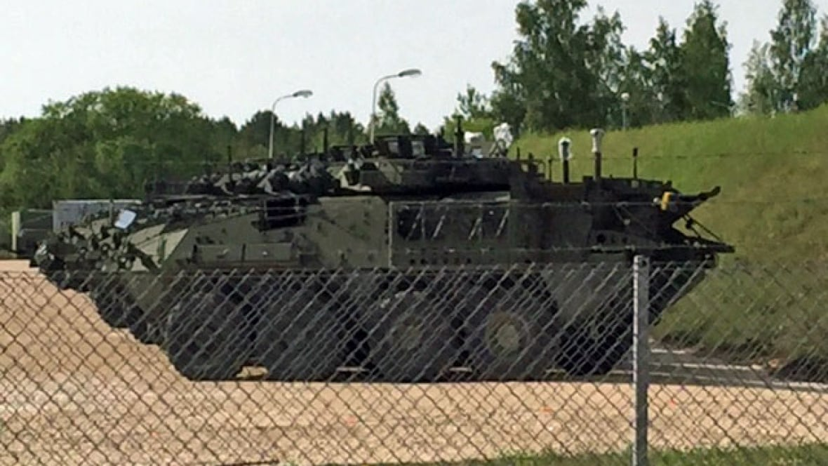 As Canadian troops arrive in Latvia, the battle for support lands at home