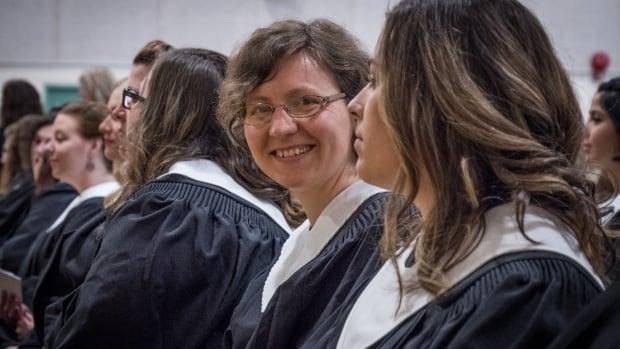 Jade Meunier graduated from Nova Scotia Community College's Kingstec campus June 9.