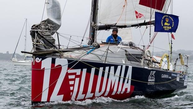Italian sailor Michele Zambelli is now in St. John's.