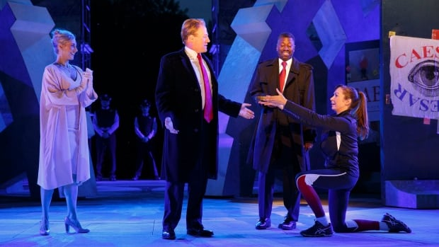 The Public Theater's new Julius Caesar has sparked a heated debate after Delta and Bank of America pulled their sponsorship for the play's depiction of the Roman leader as a Donald Trump look-alike.