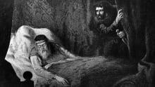 Macbeth murdering King Duncan