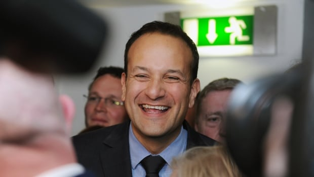 Irish leader Leo Varadkar: 'He runs triathlons. He wears casual clothing, much in the style of Trudeau in Canada. But there is that doubt at the back of it all: can he still do that hard, tough policy work?' says political analyst Johnny Fallon.