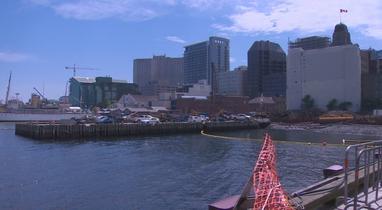 floating boardwalk on halifax waterfront won t be ready for weeks