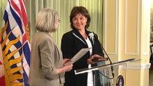 Christy Clark sworn in