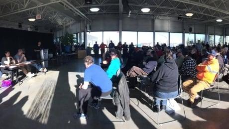 Churchill town meeting re: rail line closure