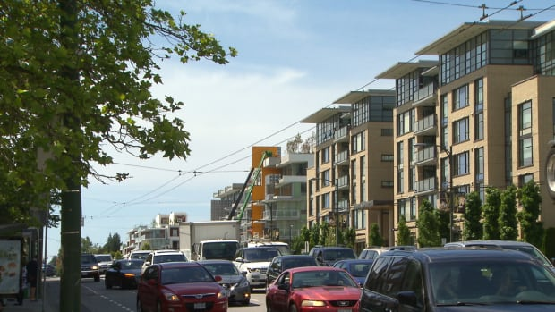 Dense development along the Cambie Corridor is part of the City of Vancouver's plan for the area.