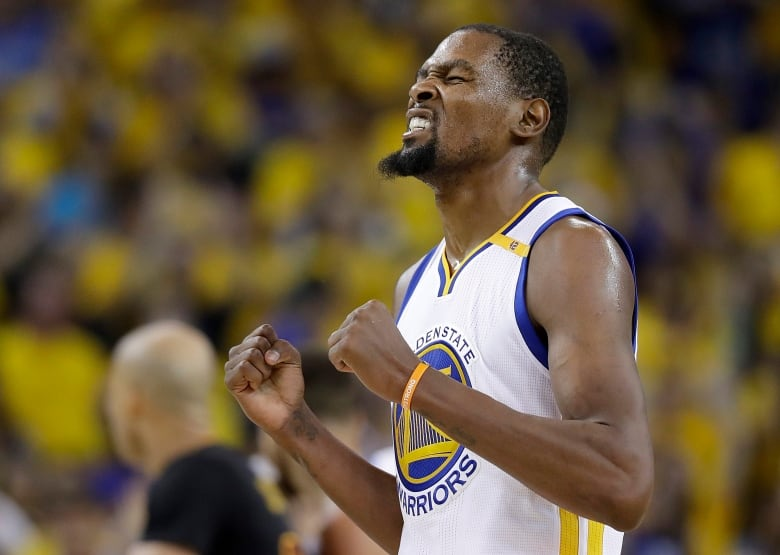 ca47c6a1ea88 Golden State Warriors forward Kevin Durant was named Finals MVP after  scoring 39 points in the series-clinching win. (Marcio Jose Sanchez The  Associated ...