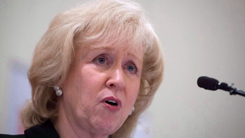 Kim Campbell: Sleeveless dresses 'demeaning' for TV broadcasters