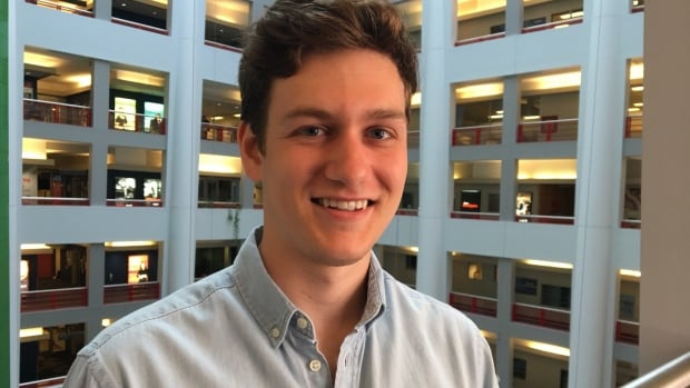 Sandro Young, 23, is headed for Google in the fall. He landed the job after five years in the University of Toronto's engineering program.