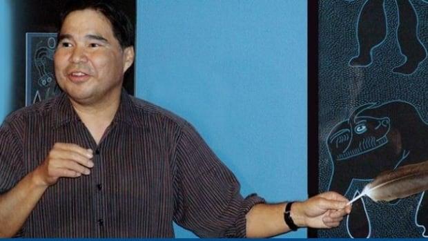 Artist Ahmoo Angeconeb, 62, died on the weekend.
