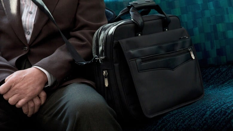 f26e484393e3 Beautiful gym bag on TTC rudely lets its useless owner take up a whole  second seat
