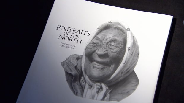 Betsy Anderson is featured on the cover of Portraits of the North, a book of pencil drawings and stories by Winnipeg artist Gerald Kuehl out on Wednesday.