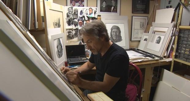 Winnipeg artist Gerald Kuehl