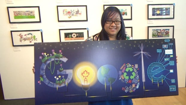Madonna Catholic Secondary School student Jana Panem beat out thousands of young artists to win the second annual Doodle 4 Google contest.