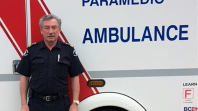 Meet the B C  paramedic who's been on the job since 1967
