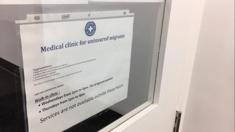 New clinic opens in Montreal for migrants with no health