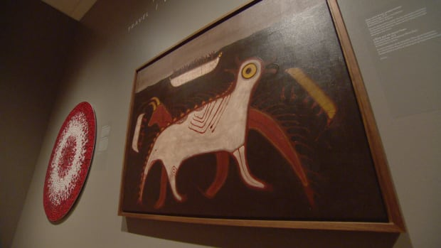 'Anishinaabeg: Art & Power' goes back through several hundred years of art, focusing on beadwork and paintings of the Woodlands School.