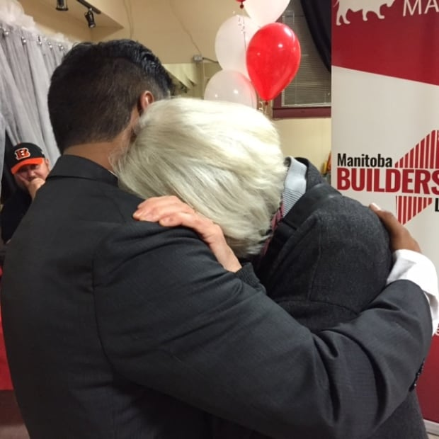 Liberal John Cacayuran after losing byelection in Point Douglas