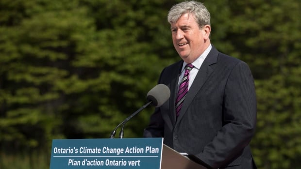 Glen Murray, Ontario's minister of the environment and climate change, is stepping down from his position and will become executive director of the Pembina Institute, an environmental think-tank.