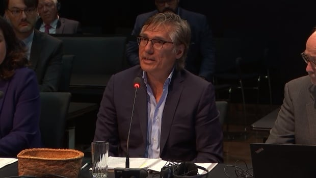 Matthew Coon Come at Quebec Indigenous commission