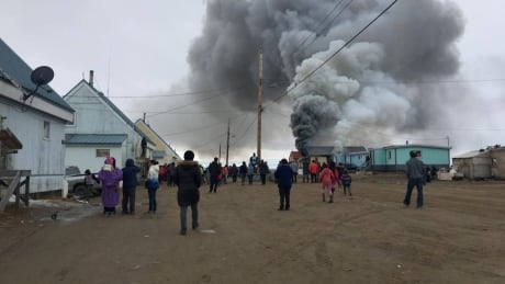 Pond Inlet fire