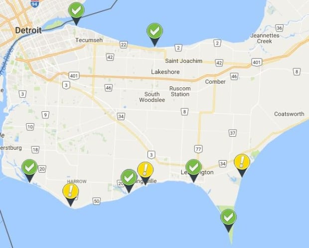 Swimming advisory placed in section of Surfside Beach