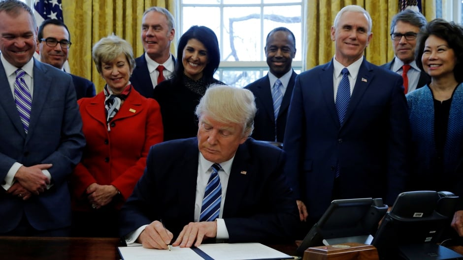 U.S. President Donald Trump recently held his first full cabinet meeting, five months after he took office in January.
