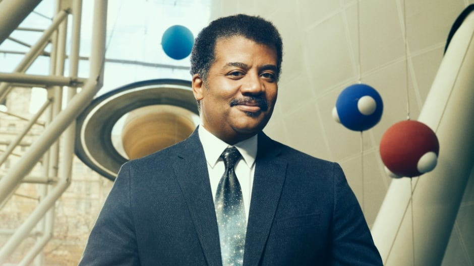 American astrophysicist Neil deGrasse Tyson is known for his space-themed television shows — Cosmos: A Spacetime Odyssey and StarTalk.