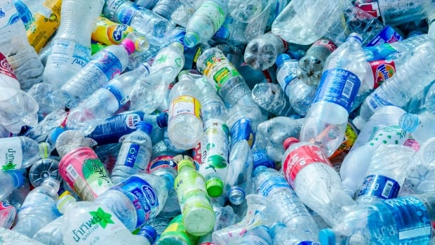 Researchers from the University of Bath, U.K., are hoping the biodegradable plastic they've created from CO2 and sugar will one day help cut down on use of synthetic plastics that end up in landfills.
