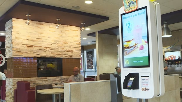 Restaurants in Canada are increasingly turning to automated kiosks for self-serve ordering and payment options for customers.