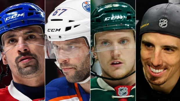 The expansion Vegas Golden Knights will build their 30-man roster starting Sunday and until June 20. Players potentially available, from left, include forwards Tomas Plekanec and Benoit Pouliot, defenceman Jonas Brodin and Stanley Cup champion goalie Marc-Andre Fleury.