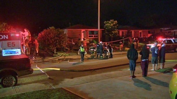Three people dead after house fire in Hamilton