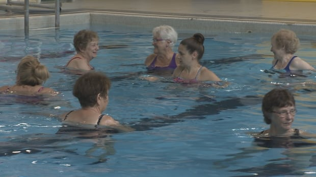 The Scotia Pool is mainly used by seniors and young children and hosts numerous therapy sessions.