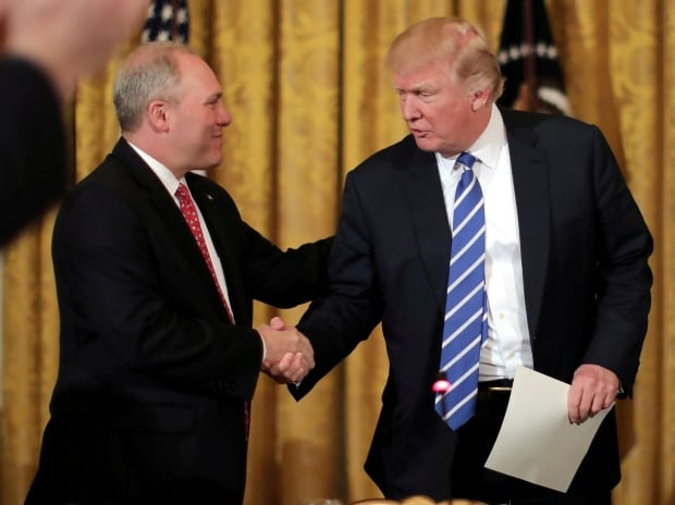 Trump Says Scalise 'In Some Trouble', But Will 'Be OK, We Hope'