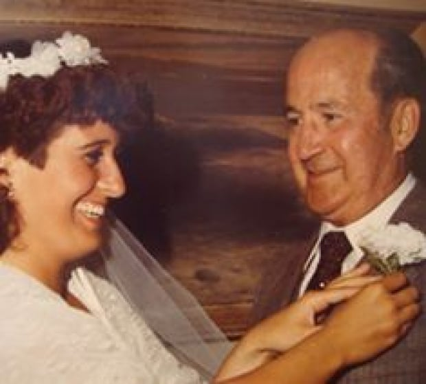 Jennifer Taylor of P.E.I. in 1983 with her father Keith Taylor