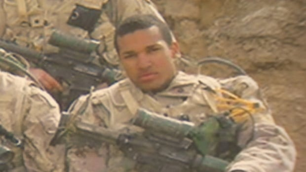 Lionel Desmond served a tour in Afghanistan in 2007.